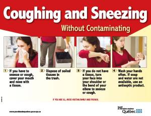 Coughing and Sneezing